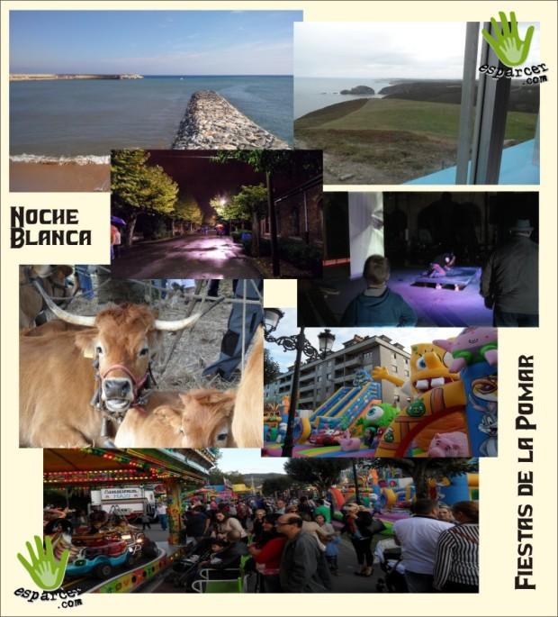 collage de actividades del fin de semana