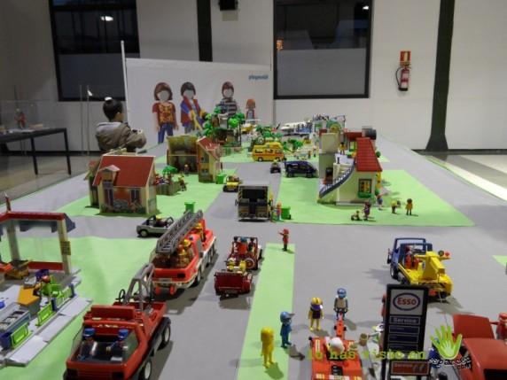 exposición juguetes playmobil